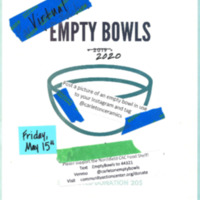 Virtual Empty Bowls 2020 Poster