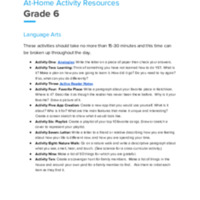 Ketchikan Grade 6 At Home Activities Leaning.pdf