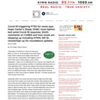 Covid-19 triggering PTSD for some says ...o · Northfield, MN · AM 1080 & FM 95.1.pdf