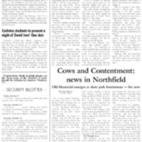 Carletonian Security Blotter: October 16, 2009