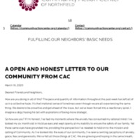 A open and honest letter to our communi...nity Action Center of Northfield (CAC).pdf